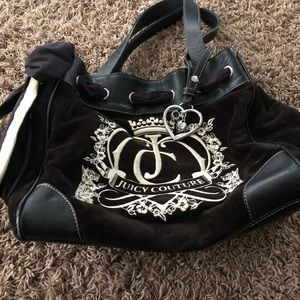 Black juicy Couture bag  used in good condition